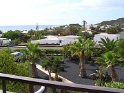 Garden, sea views
